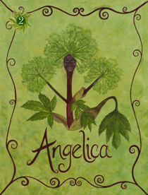 2 Angelica Card